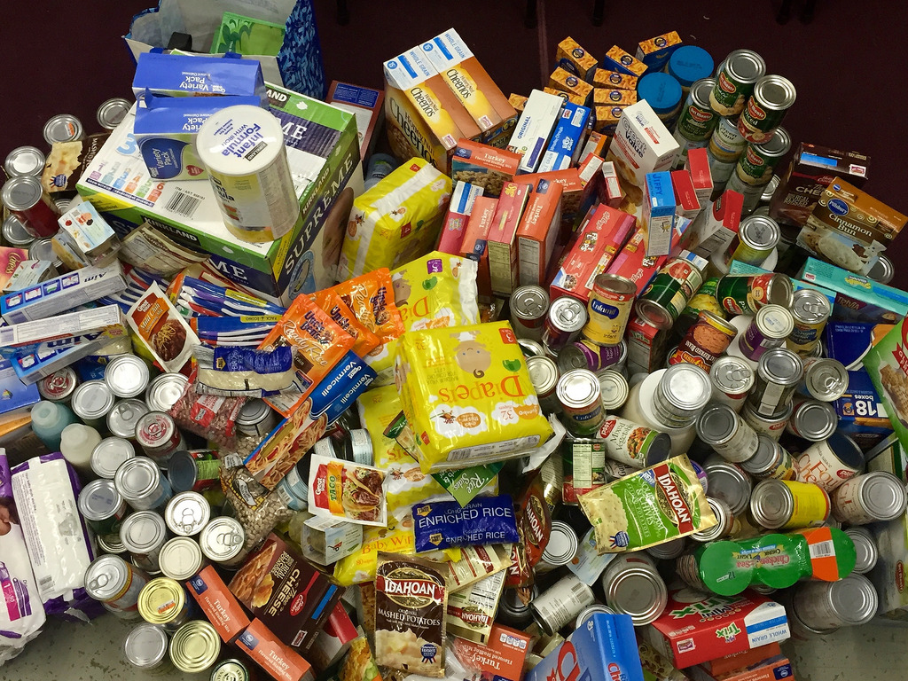 "First Sunday ""Food Pantry"" Collection: April 7, 2019"