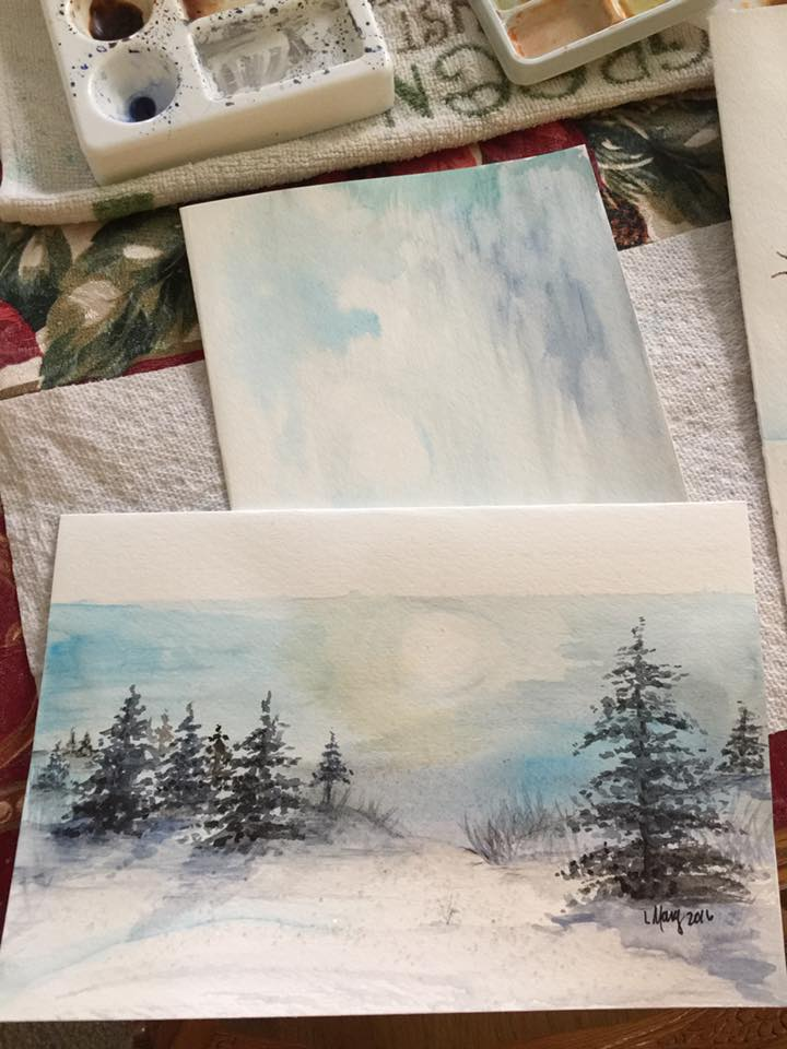 Fall Palettes and Palates Paint Night for Adults Oct. 13
